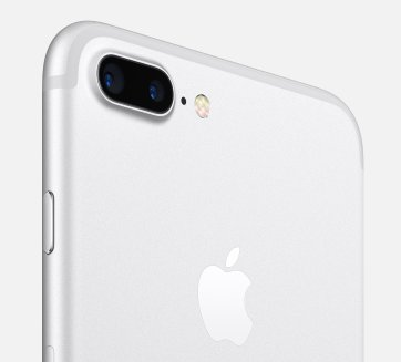 Dual cameras on the iPhone 7 Plus