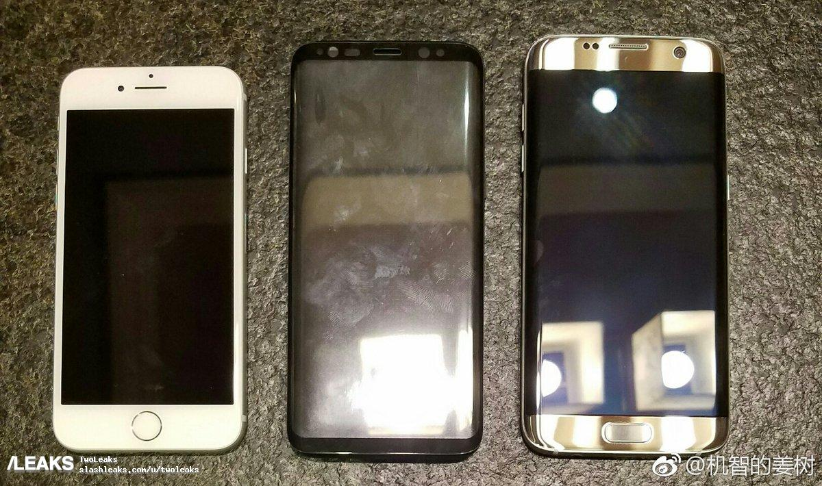 iPhone 7, Galaxy S8, Galaxy S7 Edge